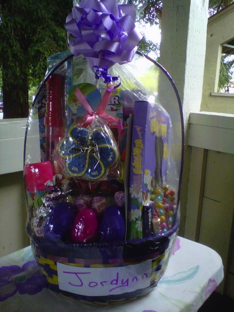 Girls easter basket lucy j productions girls negle Image collections