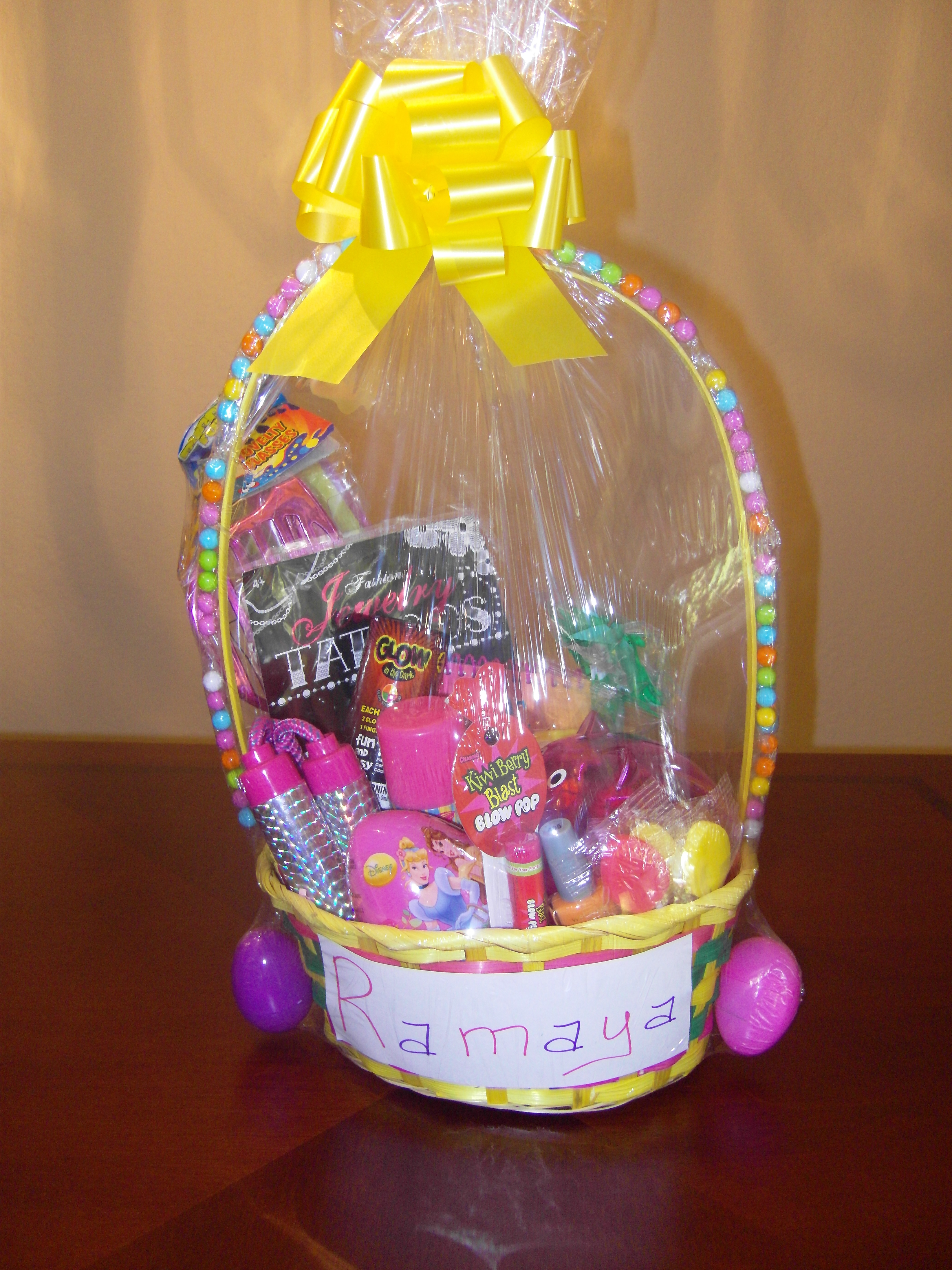 Girls easter basket lucy j productions girls easter basket negle Image collections