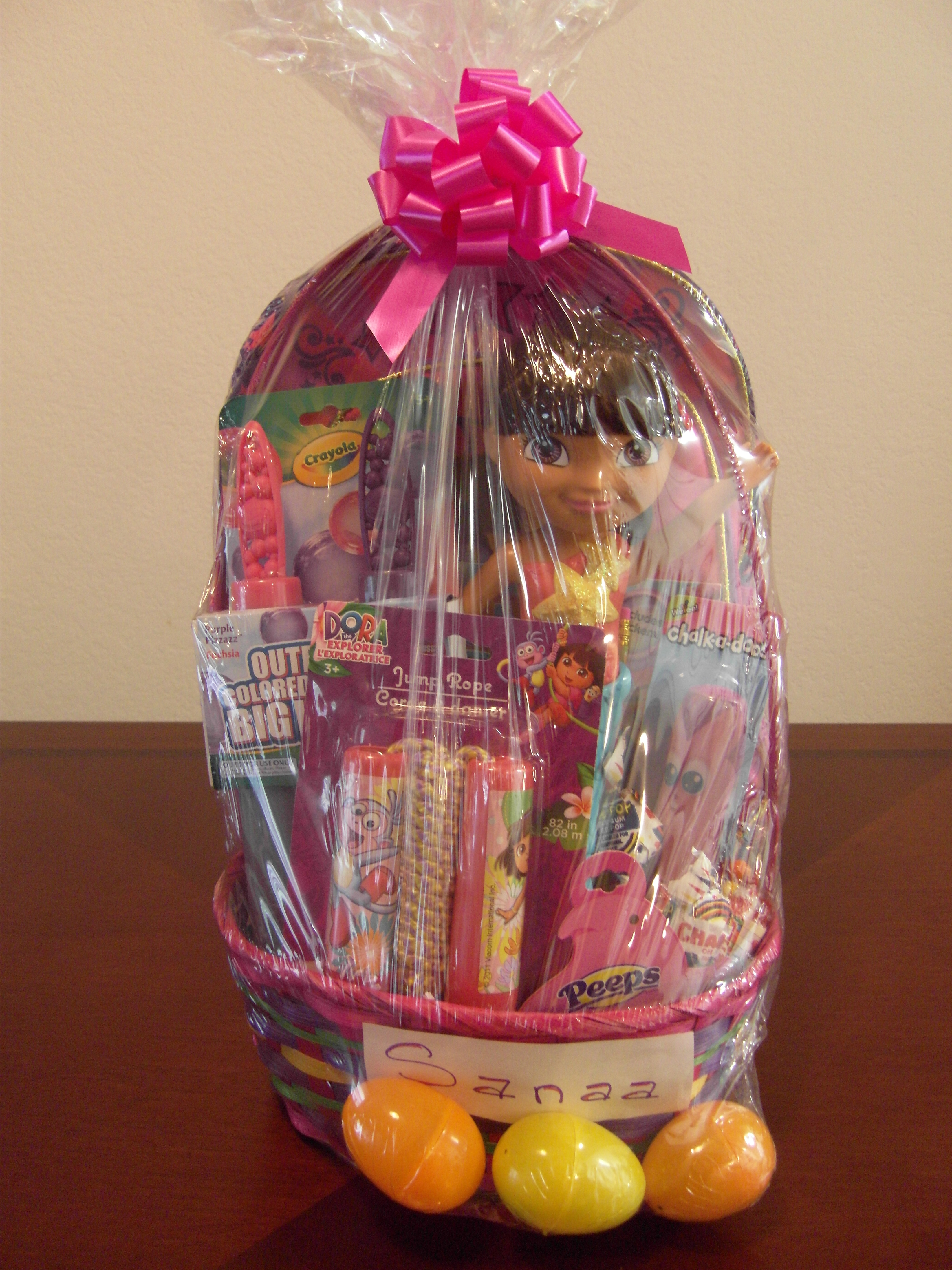 Baskets lucy j productions girl easter basket negle Images