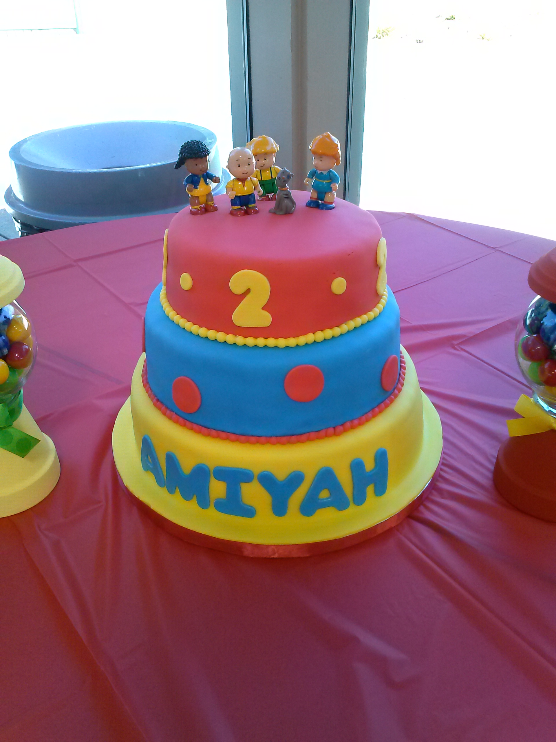 Caillou Cake Lucy J Productions