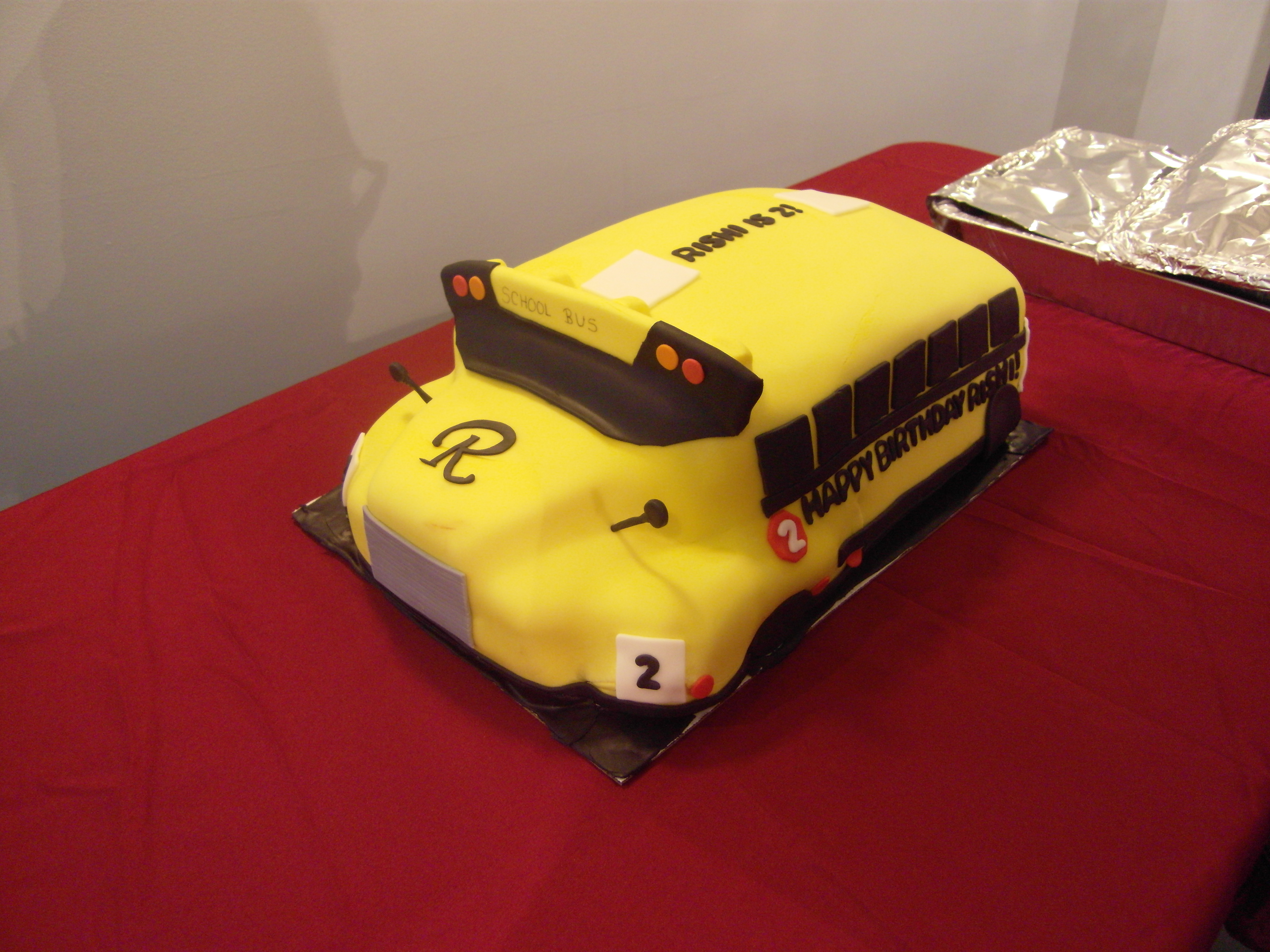 School Bus Cake Lucy J Productions