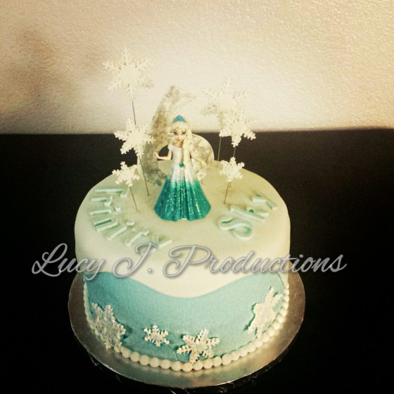Frozen Themed Cake Lucy J Productions